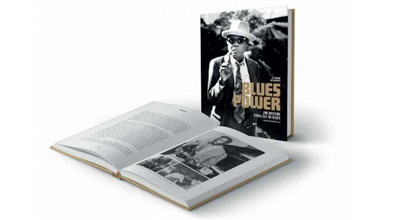 Blues Power, UNE HISTOIRE PARALLÈLE DU BLUES - Un livre de Stéphane Deschamps - GM Editions