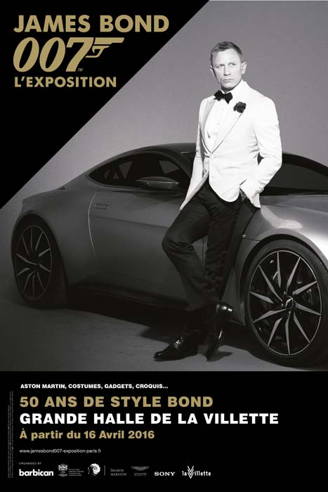 Expo James Bond - Grande Halle de la Villette