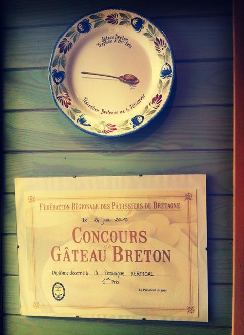 Concours gâteau Breton