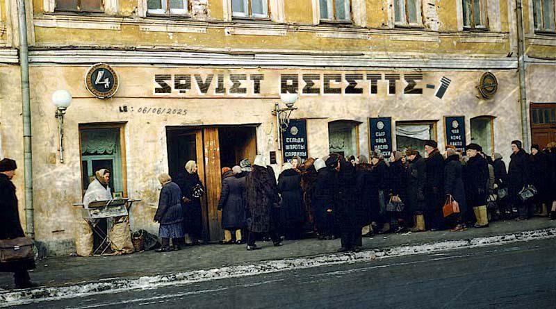La soupe au chou à la soviétique