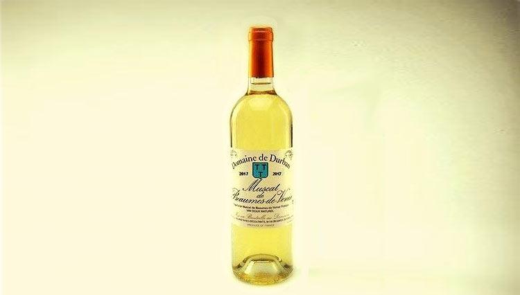 A.O.P. Muscat de Beaumes de Venise Vin Doux Naturel 2017 - Domaine de Durban